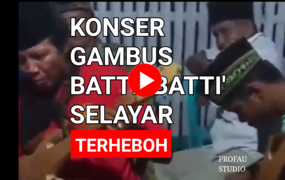 Konser Gambus Batti'-Batti' Terheboh Yang Bikin Kamu Baper