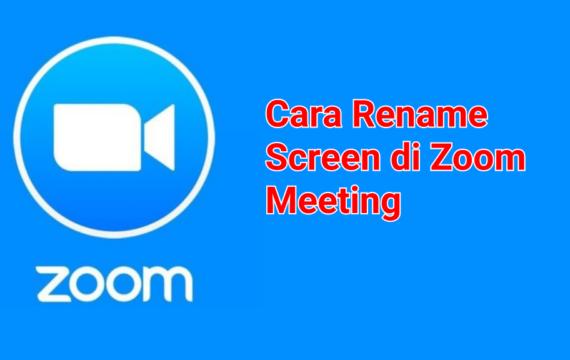 Cara Mengganti Nama Pengguna di Zoom Meeting
