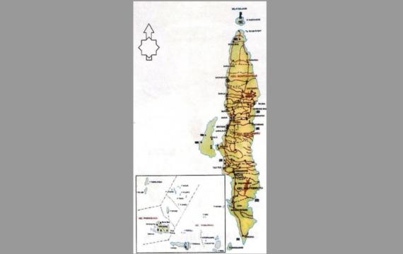 Luas Wilayah Kabupaten Kepulauan Selayar